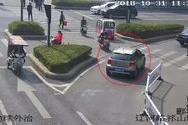 漯河市民注意!不礼让斑马线 电子监控将抓拍