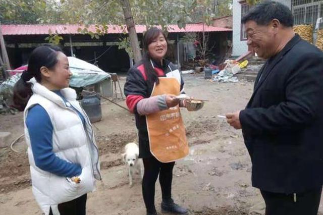 中牟县雁鸣湖镇发放大病救助金75.2万元