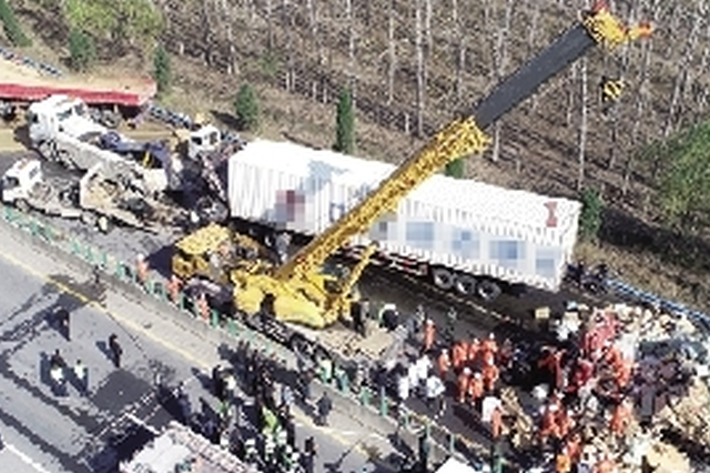 大广高速平舆段交通事故最新进展 致9人死亡9人受伤