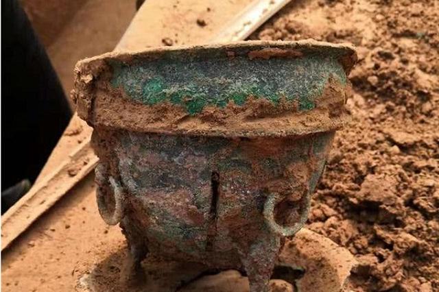 洛阳新发现西汉大墓 主墓室进行搬迁保护