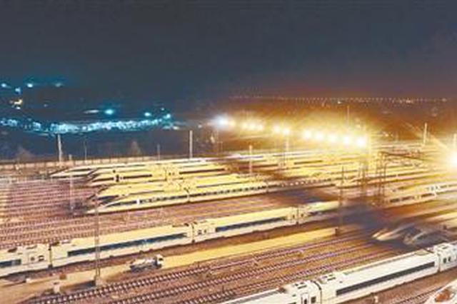 明年1月5日铁路调图 郑州新增8对高铁
