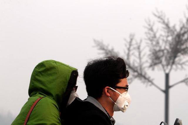 河南发布黄色预警:全省大部有中度霾,部分时段有重度霾