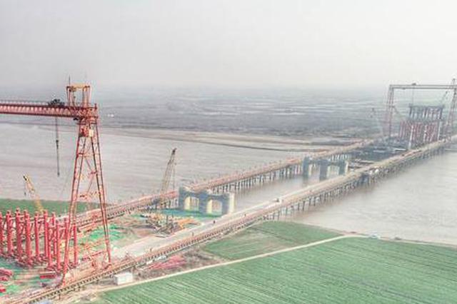 再有2年郑济高铁就要开通 郑州至济南仅需1个多小时