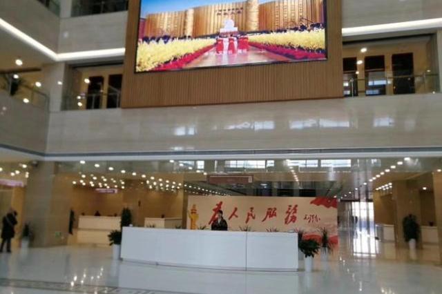 郑州市政务服务办事大厅试运行 实行业务分类一口受理