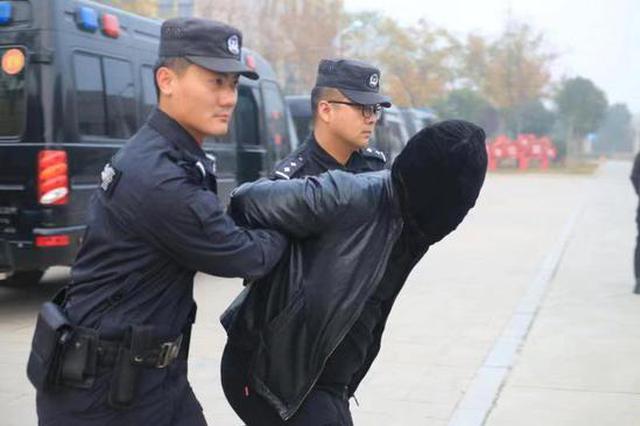 开封通许成功侦破系列电信诈骗案 抓获嫌疑人41人