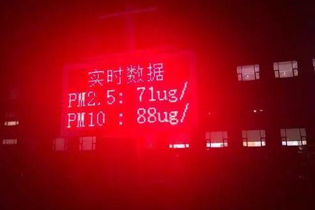 新密一企业无视橙色预警生产 涉嫌PM2.5浓度数据造假