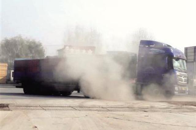 电焊切割喷漆扬尘 郑州这个物流园污染严重无人管