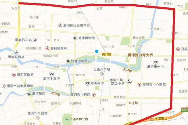 漯河107沙河大桥拆除重建 工期14个月 绕行线路公示
