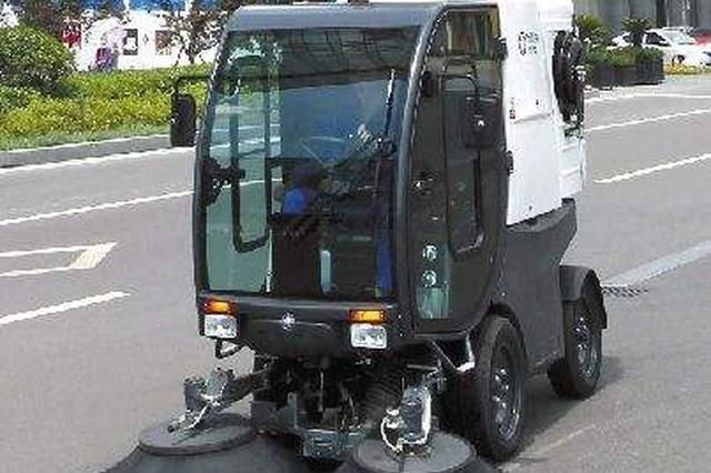 河南日均出动清扫车800多台 对公路进行清扫保洁