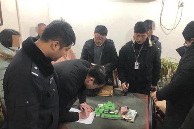 新密警方连续端掉两个赌博窝点 10名涉案人员均被拘