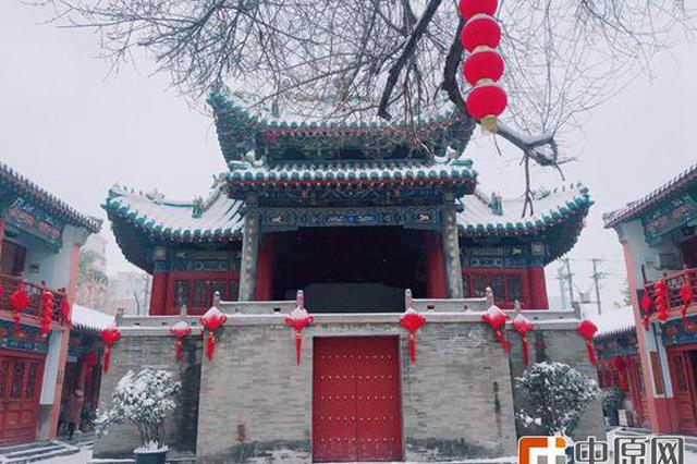 """郑州的这个地方竟拍出了雪落""""故宫""""的模样"""