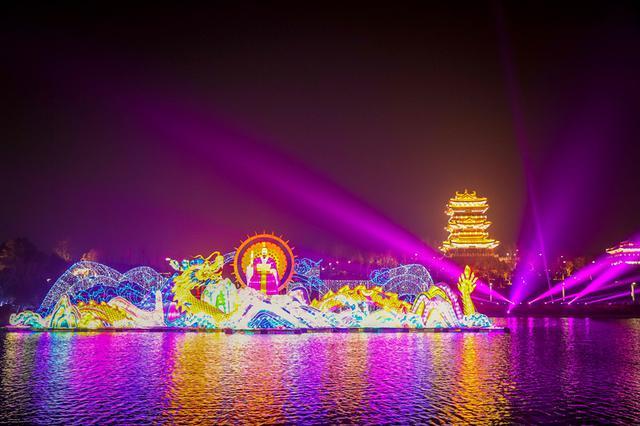 没去的还有机会!郑州园博园新春灯会将延长至3月8日