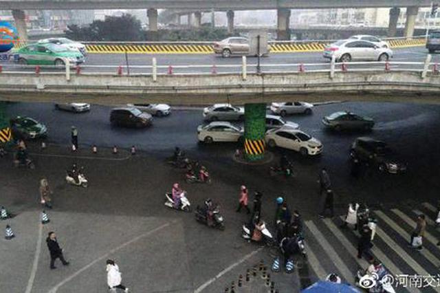郑州中小学开学第一天 俯瞰市区道路堵不堵?