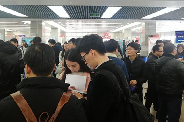 """河南""""春招""""大数据告诉你 今年?#30007;?#34892;业岗位最受欢迎"""