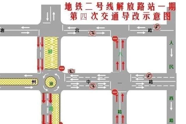 注意! 洛阳解放路中轴路口至凯旋路口通行方式有变