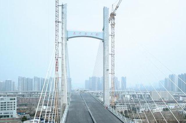 农业路大桥壮丽亮相 建成开通后郑州再添交通主动脉