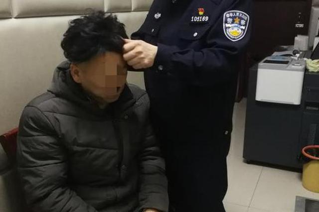 """郑州""""百变小偷""""乔装打扮盗窃电动车电池 被警方抓获"""