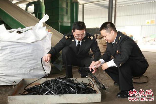 郑州海关公开销毁总货值704万元假冒伪劣的集成电路