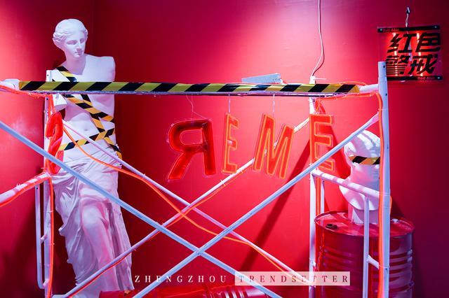 刷爆朋友圈的超人气「潮极幻想」创意潮拍展空降郑州