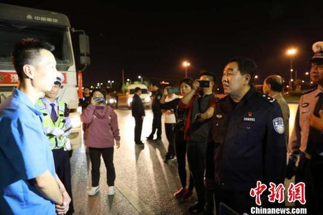 郑州严查渣土车 11天查处120辆行拘30人