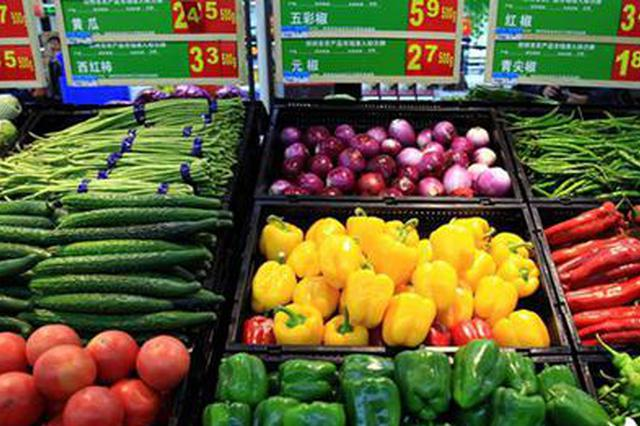 上周河南主要食品价格降多涨少 大蒜涨价最多青椒降幅最大
