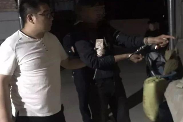 夏邑男子重操旧业 大白天翻窗入室盗窃 附被抓视频