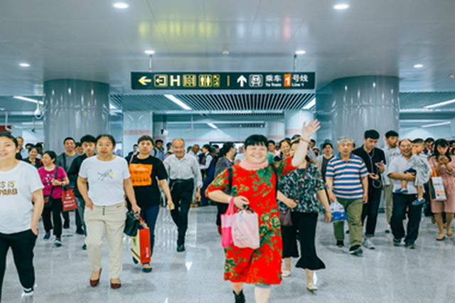 郑州地铁5号线开通首日客运量18.51万人次