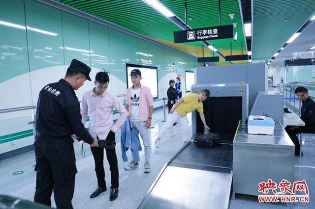 """郑州地铁5号线首日进站量前三 两个都是""""医院站"""""""