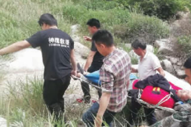 郑州驴友洛游玩深山遇险 近200名救援人员接力大营救