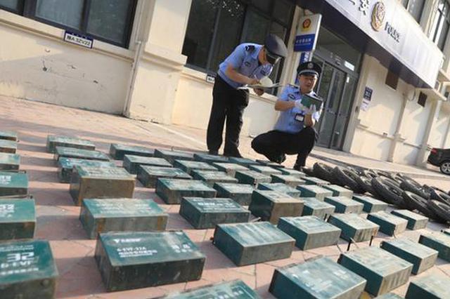 """""""父女搭档""""合伙销赃 郑州警方打掉盗窃电动车团伙"""
