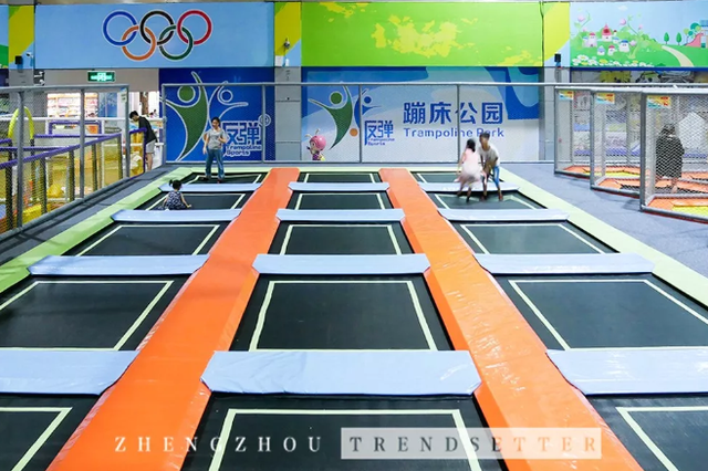 郑州这家蹦床公园要搞事!更多新项目新玩法等你来解锁!