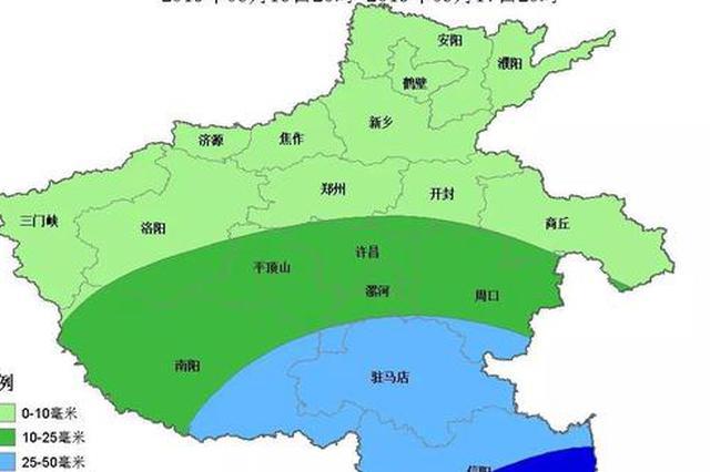 周末河南高温持续 16日夜间这些地方有雨 局部暴雨