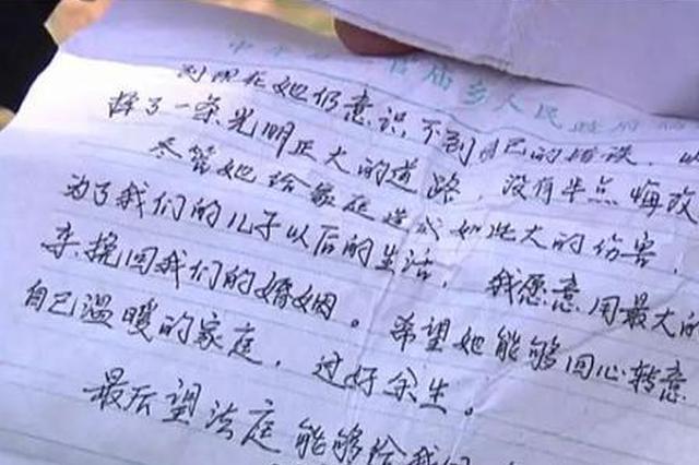 河南女子控诉遭家暴要离婚 丈夫反曝其出轨六次