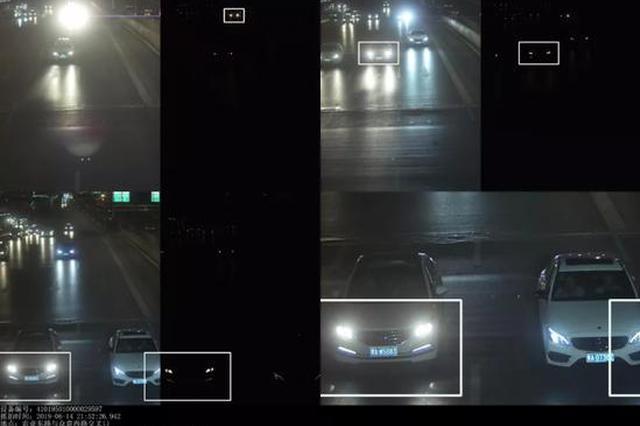 郑州11325台车滥用远光被抓拍!处罚+曝光1个月!