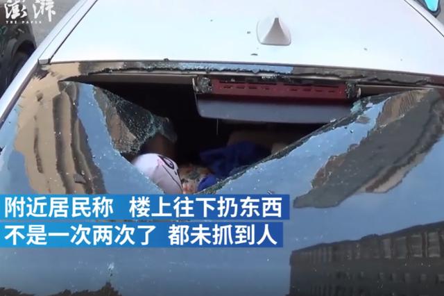 郑州饮料瓶砸碎宝马车窗 车主欲起诉整栋楼