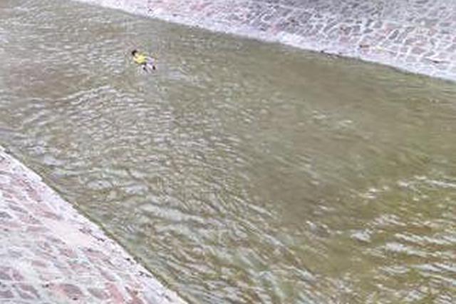 郑州180斤小伙儿跳河轻生被冻僵 民警托举救其上岸