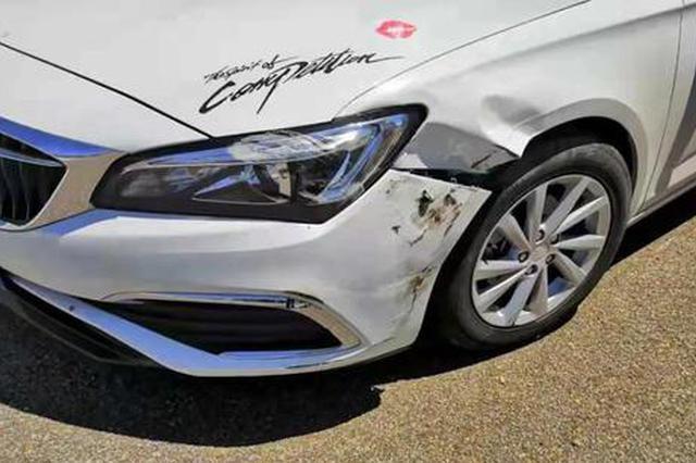 平顶山:驾驶员应急车道超车 出了事故负全责