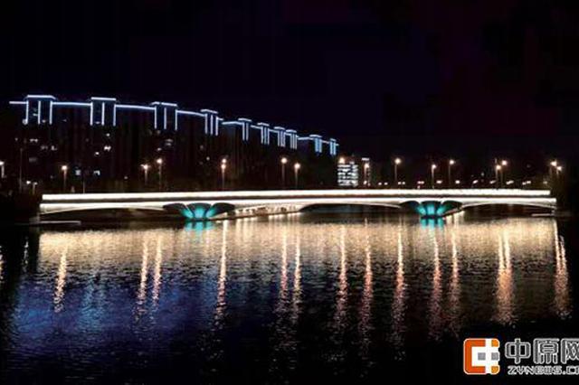 郑州灯光工程工作有序推进 200多栋楼宇完成亮化提升