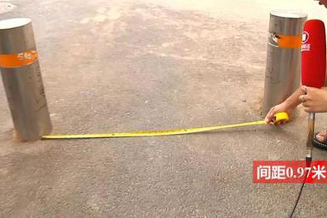 郑州女子撞上隔离桩身亡后 隔离桩伤人事件再次发生