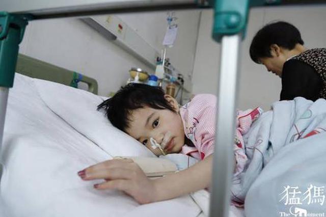 河南9岁重症女孩牙牙学语看哭网友 姥姥每天啃馒头