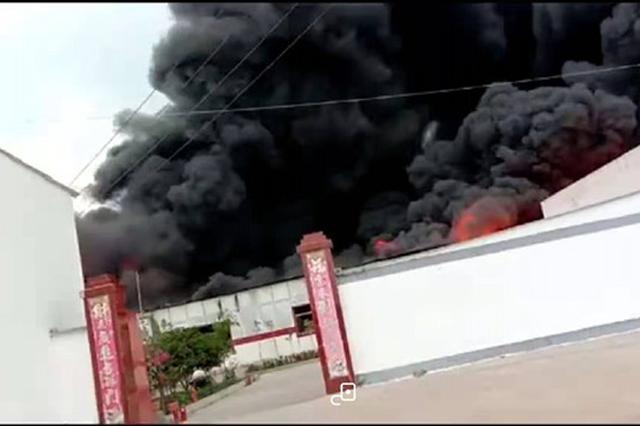 新密刘寨镇一工厂发生火灾 废墟堪比消防警示电影