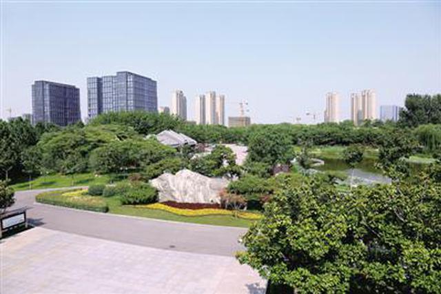 生态修复如神来之笔 郑州窑厂废弃地变成赏花休闲处