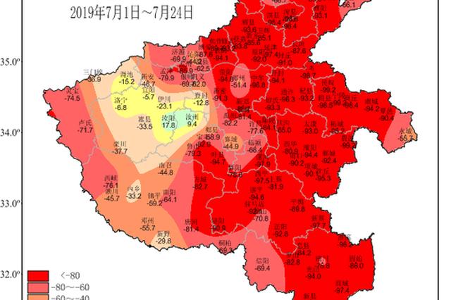 未来一周河南仍将高温少雨 需防御高温干旱灾害