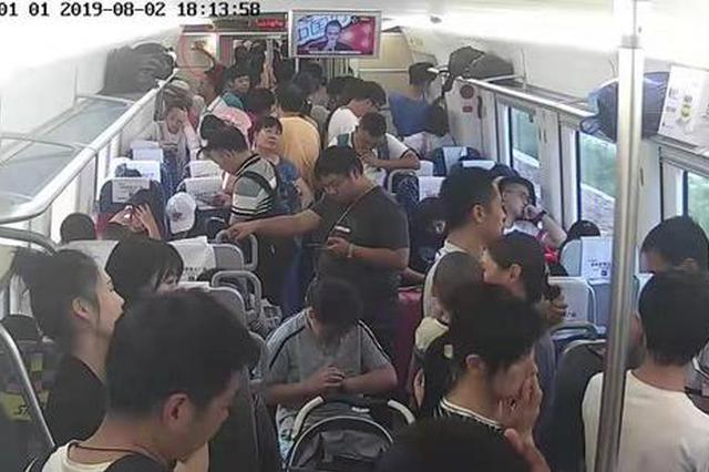 鄭州:按壓火災報警裝置逼停列車 男子被拘5日