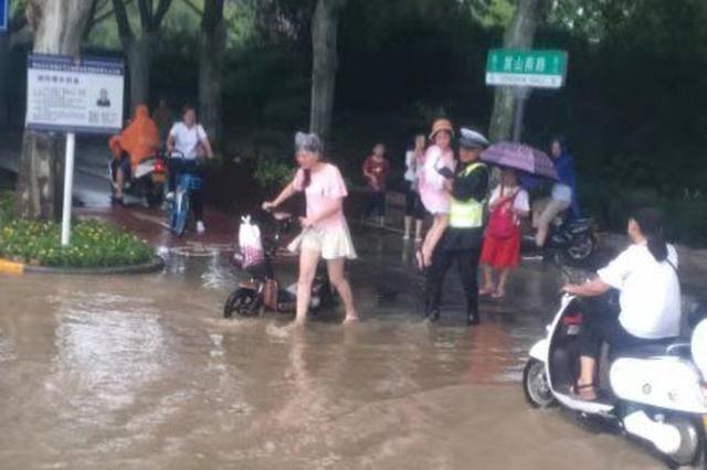 郑州未来半月仍有雨 这些易积水路段请绕行