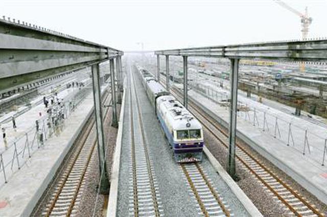 郑州南站站房主体结构全面施工 预计2022年开通运营