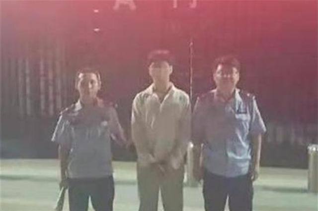 """淅川小伙无牌无证驾驶被查 """"吃瓜群众""""上前被双双拘"""