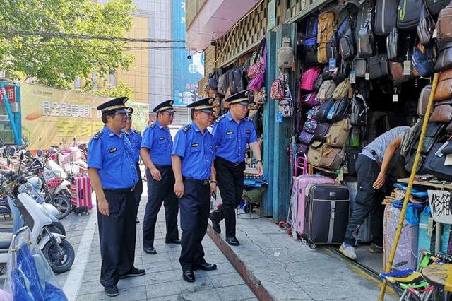 郑州持续开展火车站地区市容环境大提升