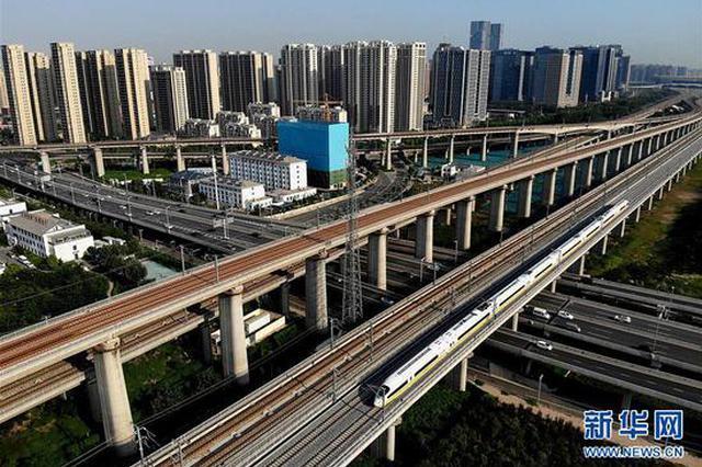 组图:郑阜铁路河南段开始联调联试