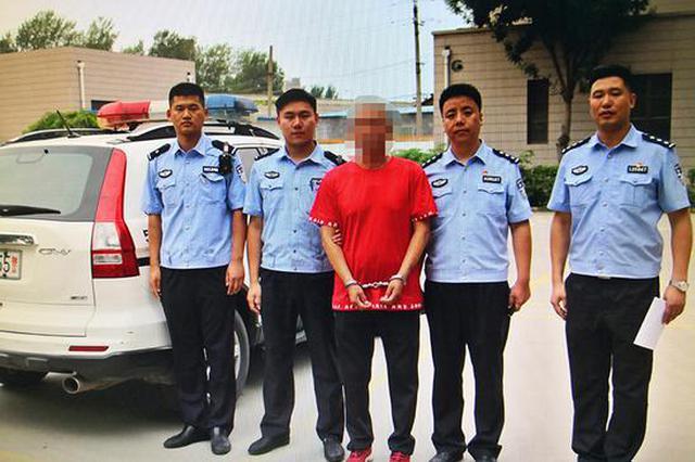 新乡:男子无证驾驶被查后弃车就跑 原来是逃犯